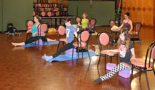 Splits Supported On Yoga Blocks With A Squashy Block Top Allow You To Fully Relax Into The Stretch Because Are Completely